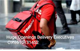 ZOMAATO Hiring Delivery Executives