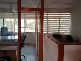 Office naxtra tower semi furnish Indira cercle near