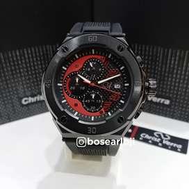 Jam Tangan Christ Verra CV 10508 Black
