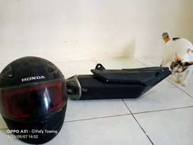 Helm ori CBR 150 (full face)