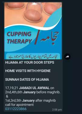 HIJAMA AT YOUR HOME