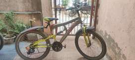 Sports Cycle, 18 Gear , With both Side Shock up ,