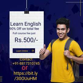 Spoken English classes online with seperate doubt session