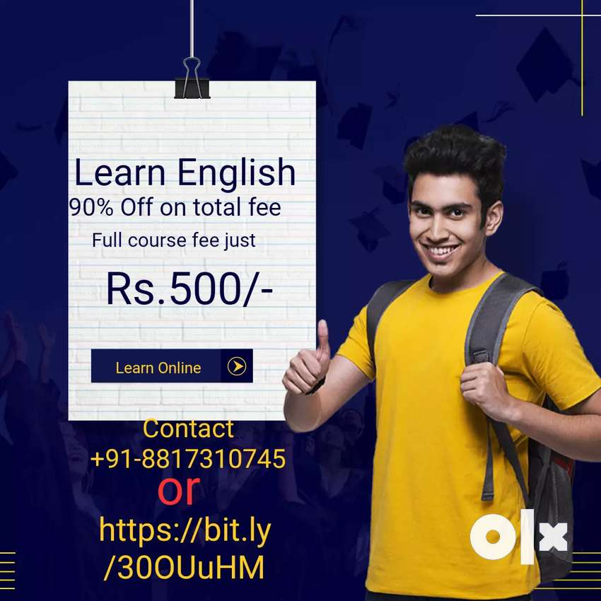 Spoken English classes online with seperate doubt session 0