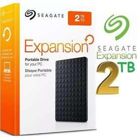 Hard disk External 2 TB Merk Seagate