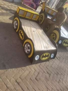 Batmqn car bed for kids