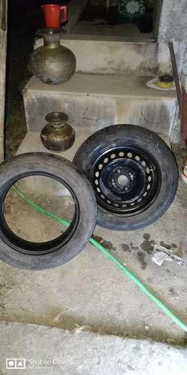 Original Hyundai Grand i10 Rim & Tyre for sale