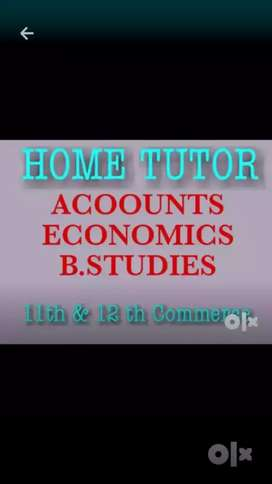 Commerce tutor here for Accounts Economic