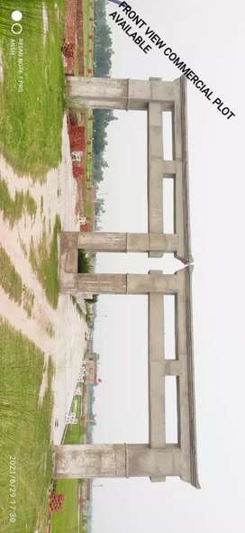 Plot only 199rs sqft main kisaanpath highway Lucknow