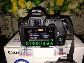 Canon camera 200 d two Lens