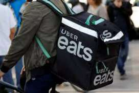 "Wanted delivery partners in nessapakkam for ""UBER eats"""