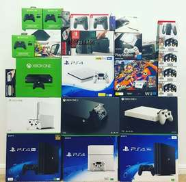 All types of PlayStation,Xbox consoles available with warranty! Sale!