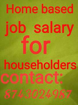 Fresher's housewife and retired person both can join this job