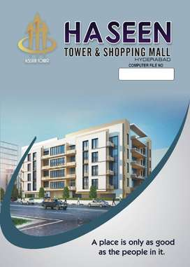 SHOPS ON BOOKING AT HASEEN TOWER LATHIF ABABD 7 HYDERABAD