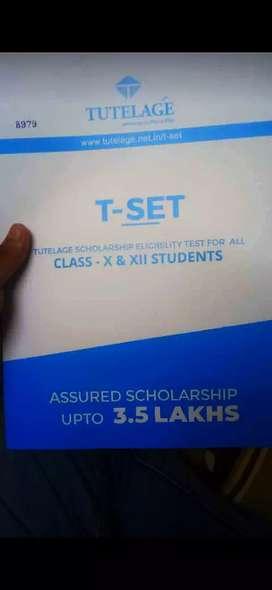 Get assured scholarship upto ₹350000, and minimum of₹ 6000