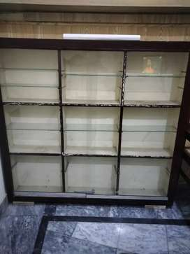 Rack with glass door sale