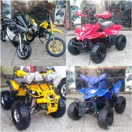For Sell Different colours of Atv Quad 4 wheel Bike & kids 2 Wheeler