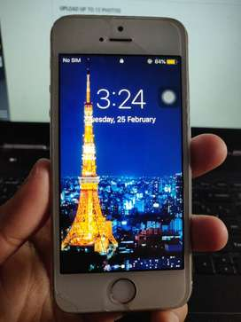 iPhone 5s (Silver) 16GB Fully working condition.