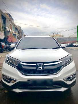 Honda CRV 2.4 Prestige Fender Audio Putih 2016