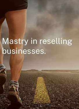 Mastery in selling business.
