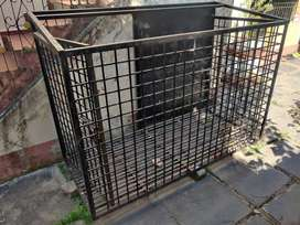 Steel cage for pet rarely used