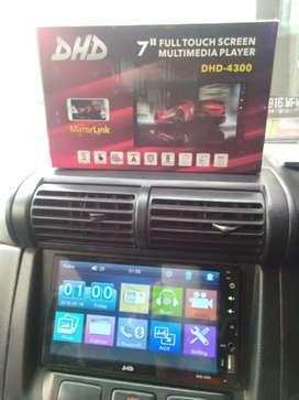 Paket TV mobil 7inch Mirrorlink+Kamera GRATIS Masang