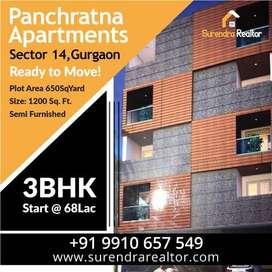 Panchratna apartments SECTOR 14 GURGAON