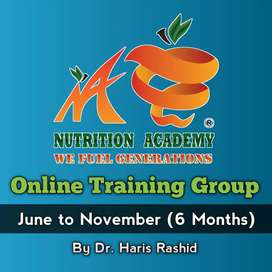 Nutrition Academy Online 6 months Training Course with Certificates