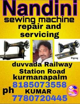 Nandini Sewing Machine servic