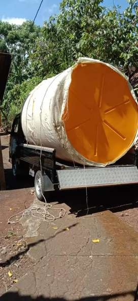 Tandon air 5000 toren 3300 bahan plastik pvc tebal purworejo