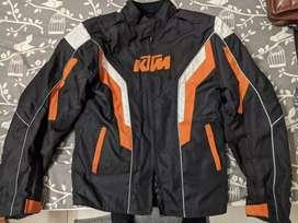 Jacket -KTM bike jacket : CE certified armoured jacket