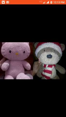 Kitty and teddy