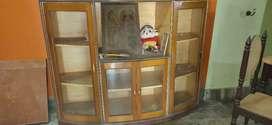 Showcase wooden