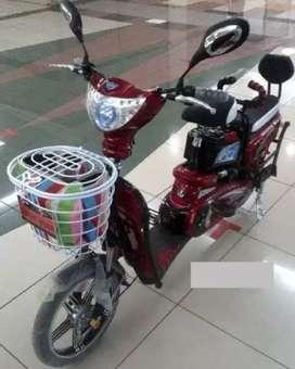 Sepeda listrik tanpa STNK aman dijalan raya
