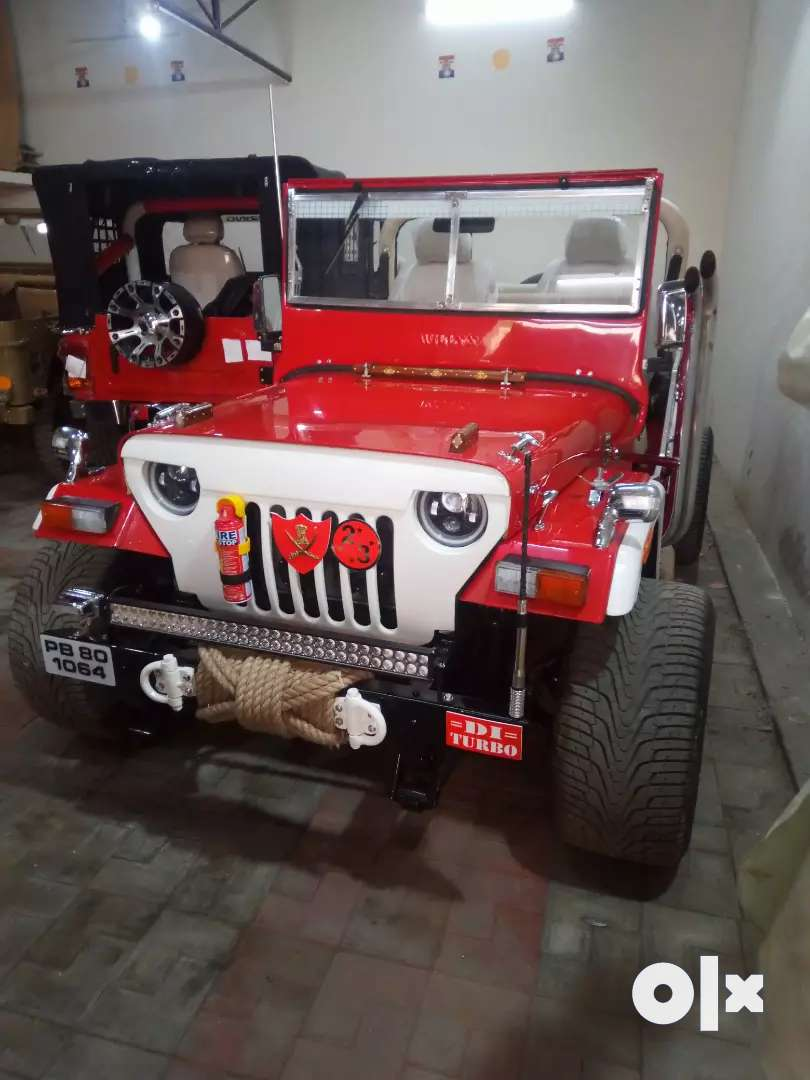 Open Jeep modified in Punjab 0