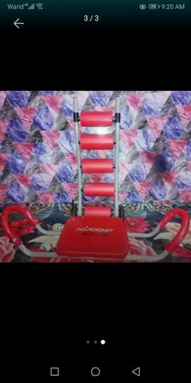 ABROCKET TUMMY SLIMMER EXERCISE MACHINE