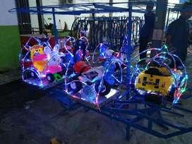 ERV 05 mainan kincir komedi safari mini coaster odong odong