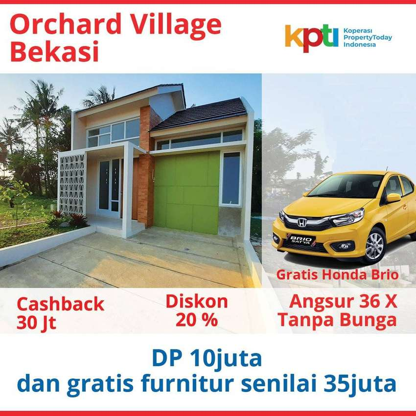 Orchard Village Bekasi di Babelan, Harga Murah, Kualitas Terjamin 0