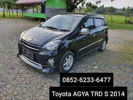 Toyota Agya TRDS 2014 hrg 90jt bisa prosea kredit bsa tukar tambah 777