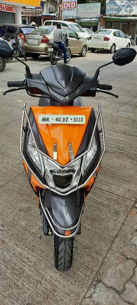 Honda dio 2018 ending 5 year insurance available showroom condition