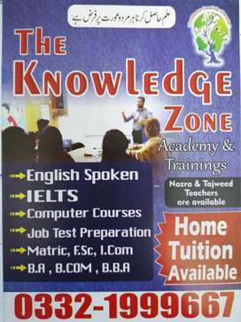 The Knowledge Zone acadmy G-11/1 Islamabad