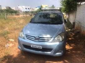 Toyota Innova 2.5 G4 (Diesel) 8 Seater, 2009, Diesel, Good condition
