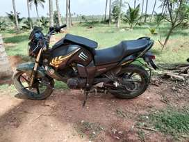 Yamaha fz it's sporty look bike with good condition.