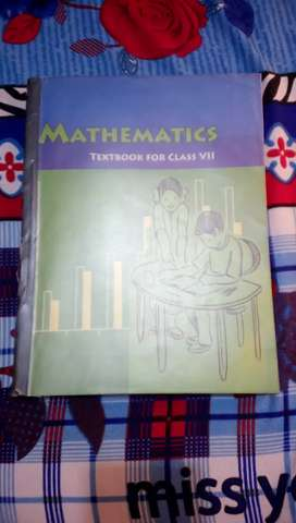 MATHEMATICS NCERT CLASS 7TH
