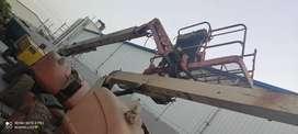 JLG boom lift