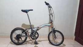 Sepeda Lipat United Stylo 6 speed