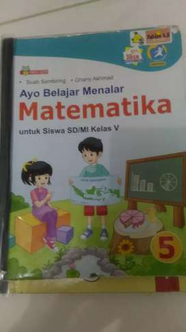 Buku Matematika kelas 5SD/MI