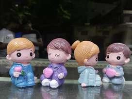 Unique Cute Couple Doll Set Showpieces