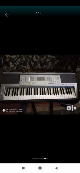 Synthesizer/Casio 810 Model + Bag +Adopter+ Modified Tone pages