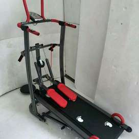best wonder black colour treadmill 6 f